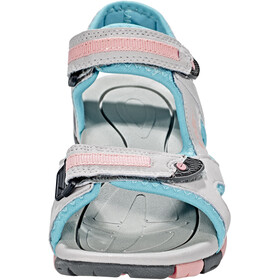 Hi-Tec GT Strap Sandalen Kinderen, cool grey/curacou blue/papaya punch